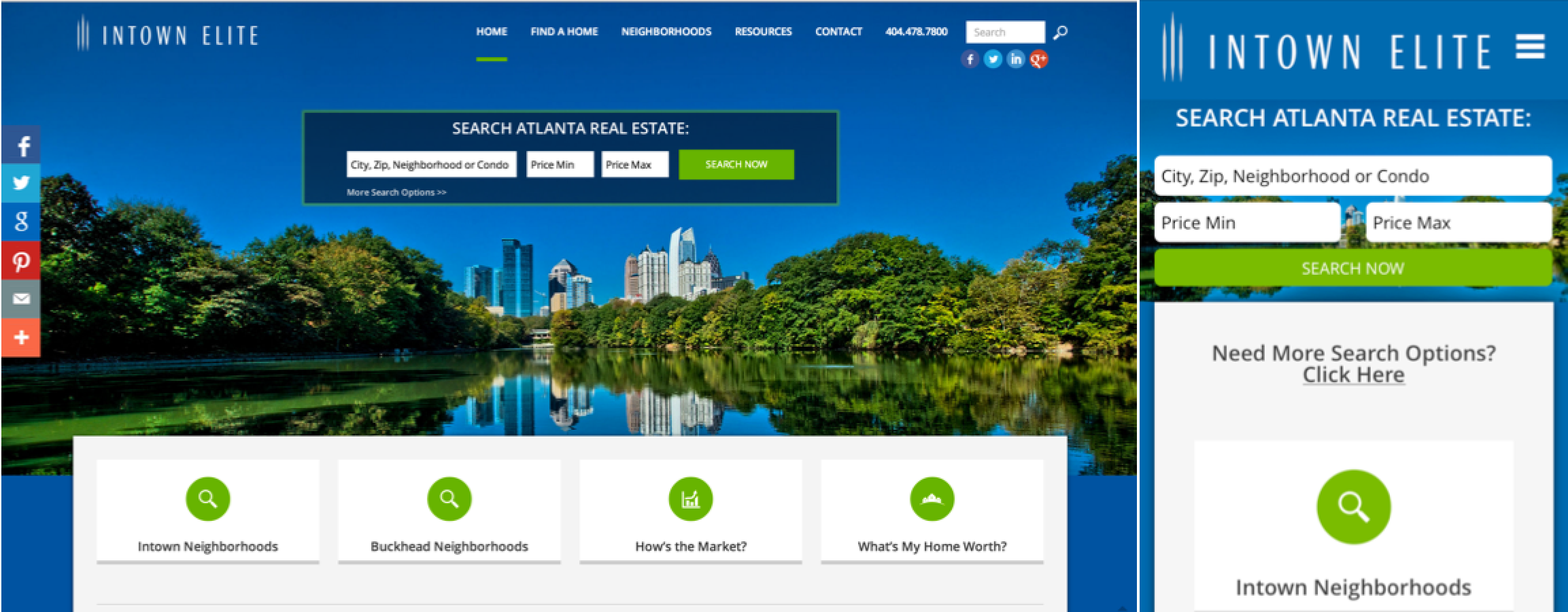 Responsive real estate website design a diy project for Home design websites
