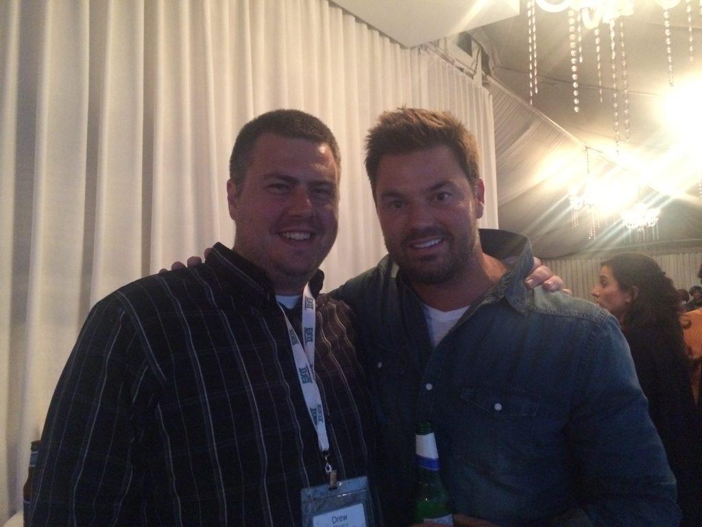 Blake Andrews and I at San Francisco