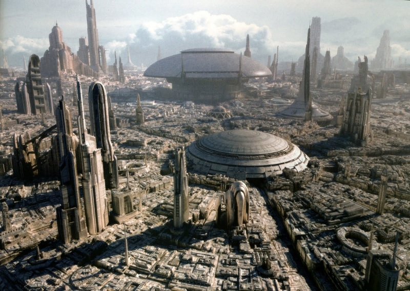 City-Scape-Star-Wars