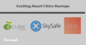 Smart cities startups