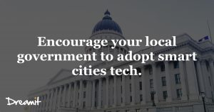 Governments and smart cities.